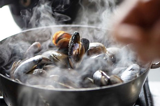 Mussels at Duke's