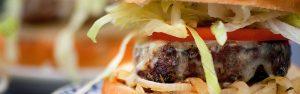 hamburger from Duke's