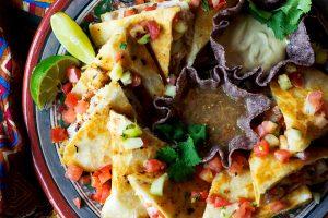 Rock Around The Clock Rockfish Quesadillas