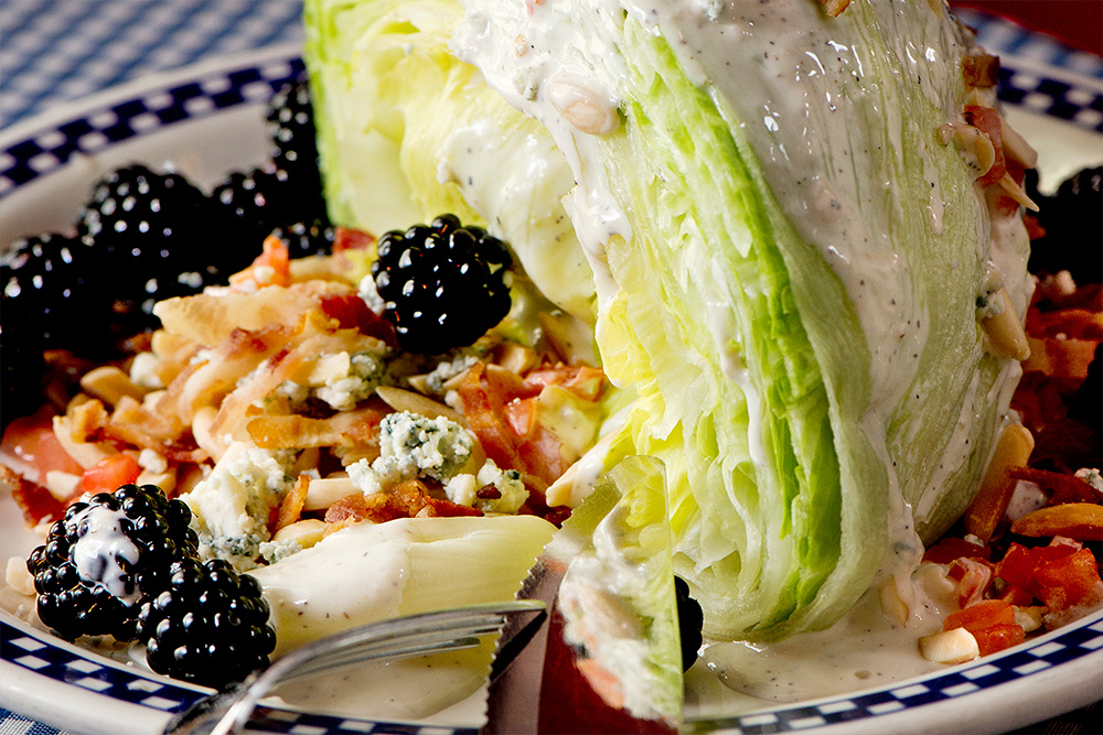 Sweet Blueberry Wedge Salad