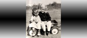 Childhood - Duke with Brother