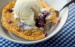Duke's Famous Marionberry Pie