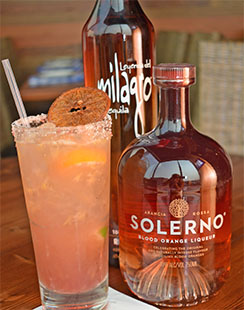 Blood Orange Liqueur Solerno
