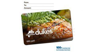 Duke's Seafood Gift Card
