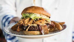 Beechers Burger at Duke's