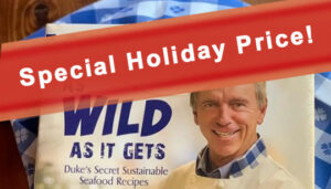 Duke's Seafood Holiday Cookbook Promotion
