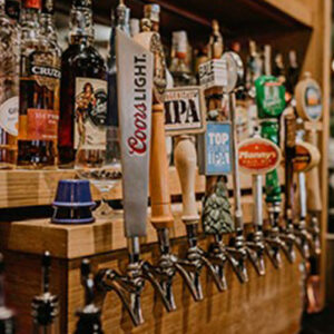 Beer Taps at Duke's, Coors LIght and others